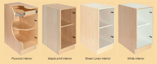 Choose Your Cabinet Interior: